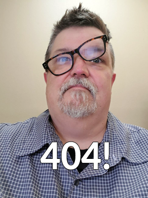 404 - blame this guy